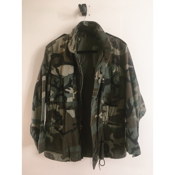 Other - Vintage army jacket